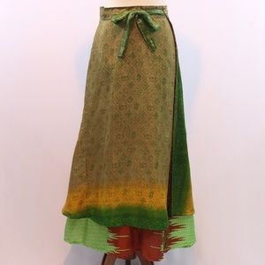 Dresses & Skirts - Reserved for Jessica Vintage layered Indian boho